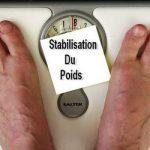 Satbilisation du poids