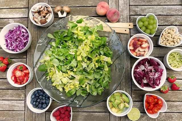 Menu rééquilibrage alimentaire